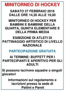 minitorneo di hockey